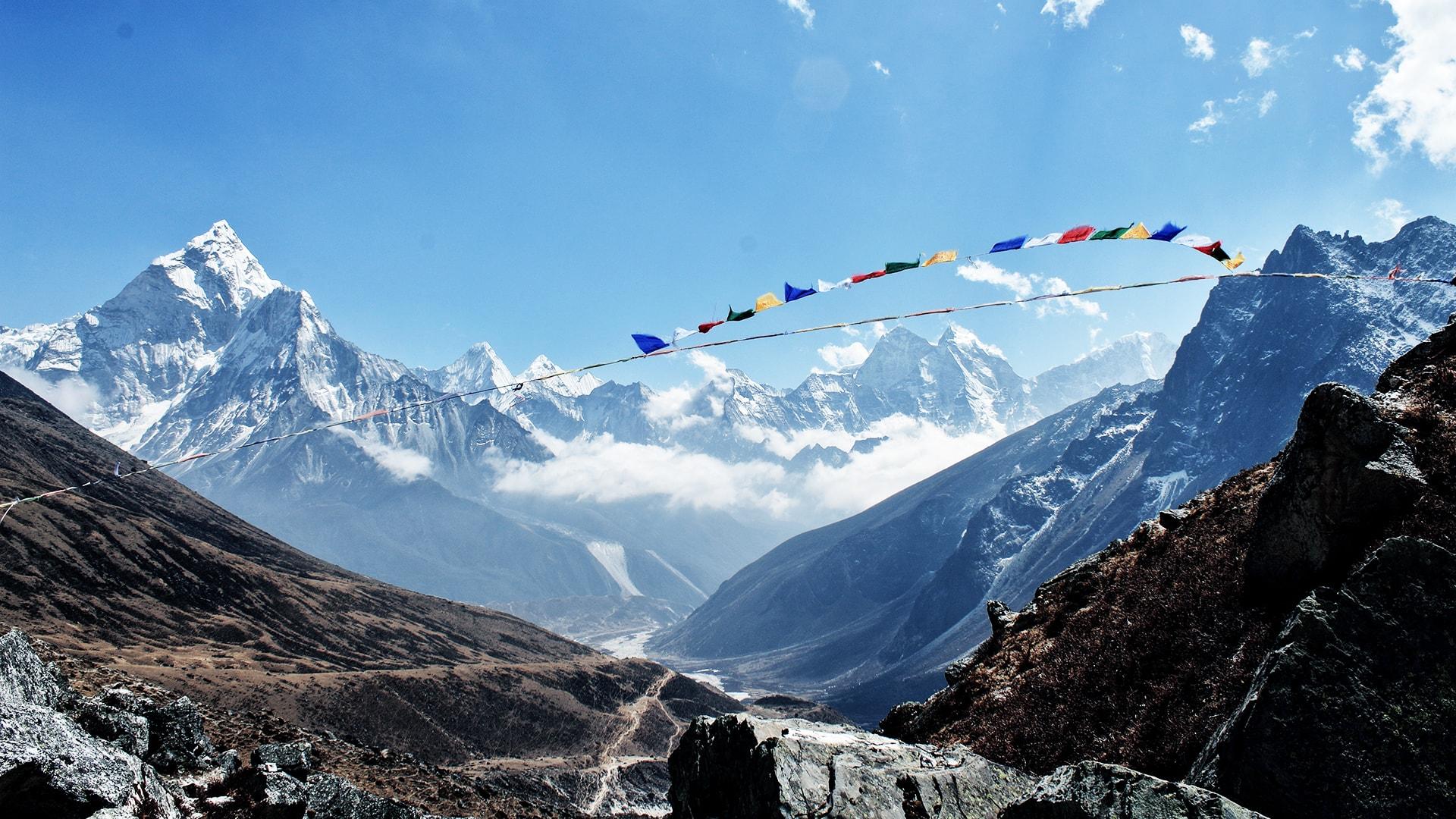 Las montañas de Nepal