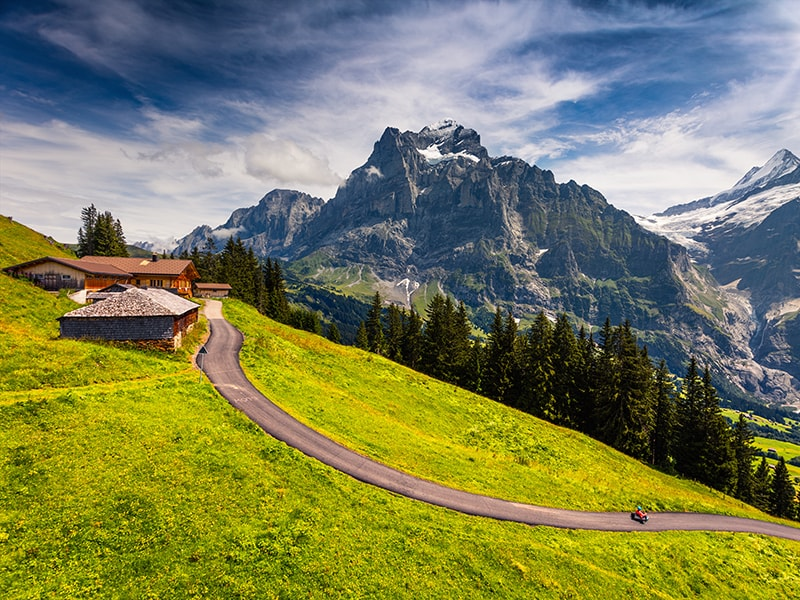 Switzerland. The Great route