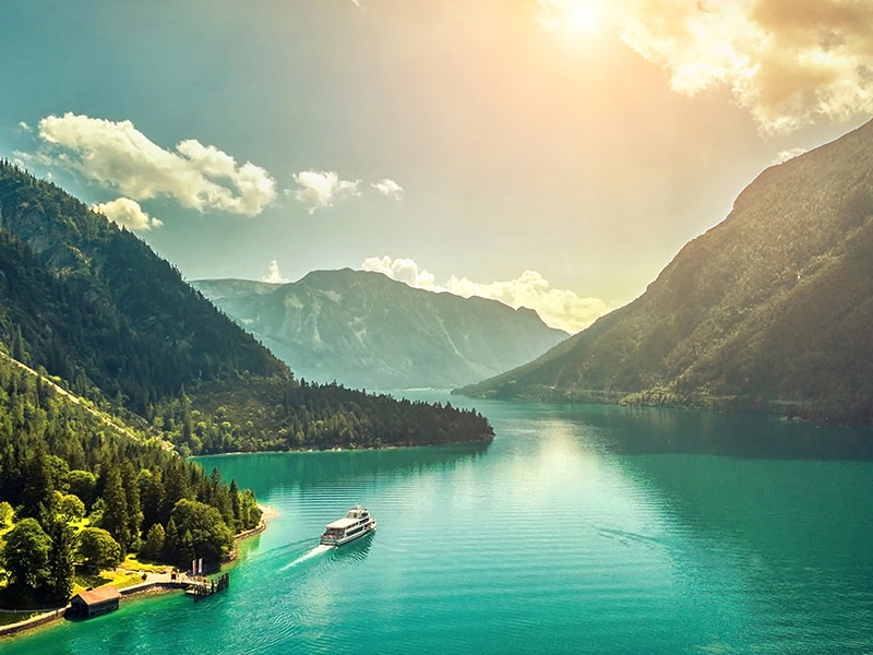 Suiza. Los Cuatro Cantones