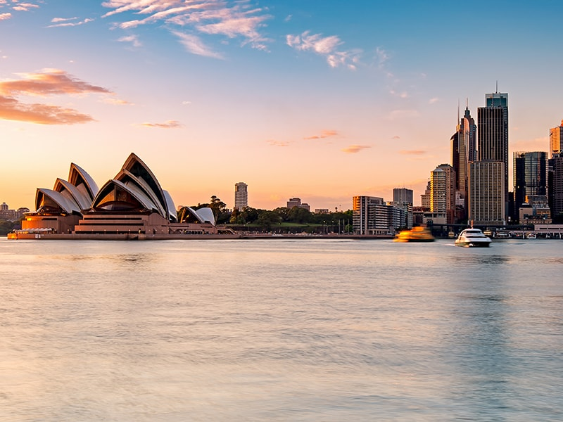Australia. Navegar en privado por la bahía de Sidney