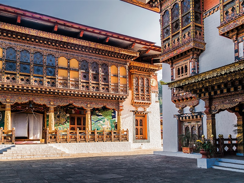 Bhutan. Stay with a local family