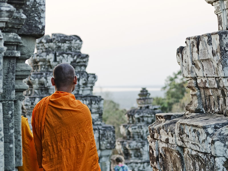 Cambodia and Laos. Access an authentic Baci ceremony