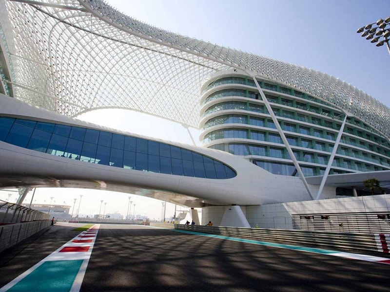 Dubai / Abu Dhabi. Attend the Grand Prix of Formula 1