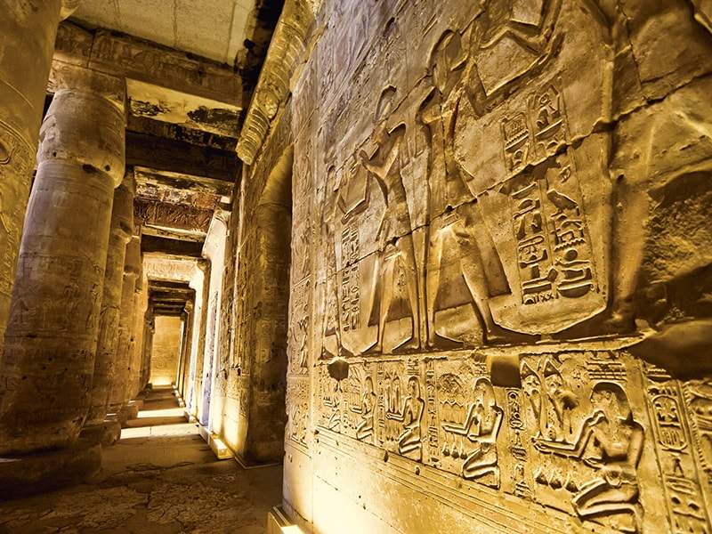 Egypt. Special permits for a private visit to see the tombs