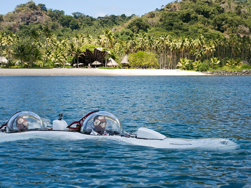 Fiji. Explore the depths of the Fiji Islands in your own submarine