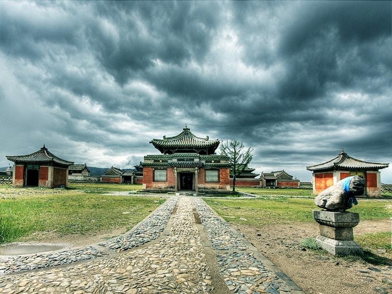 Mongolia. The Erdene Zuu Monastery in Karakorum