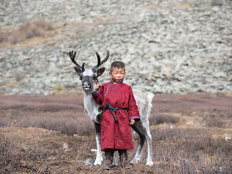 Mongolia. The nomadic culture