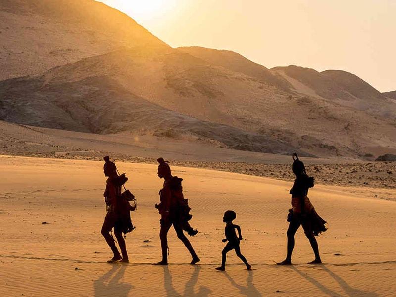 Namibia. Meeting the Himba tribe