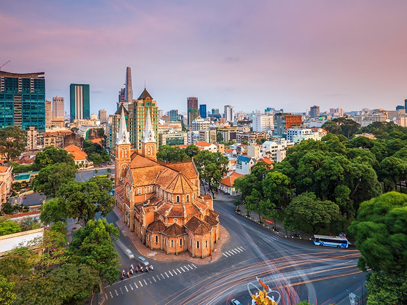 Vietnam. Lose yourself in the streets of Saigon
