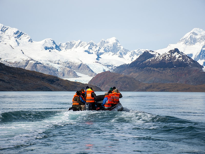 Chile. Cross the Beagle Channel