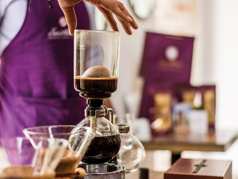 Colombia. Enjoy the latest trend in the coffee world, with a private tasting of molecular coffee