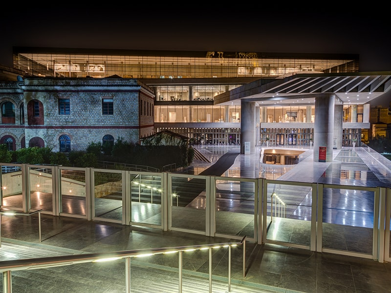Greece. The Acropolis Museum