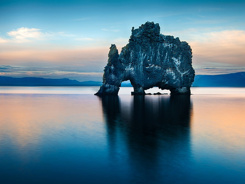 Iceland. Travel to the Trolls Peninsula