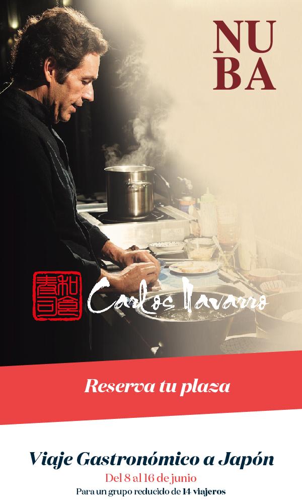 Viaje gastronómico a Japón con Carlos Navarro