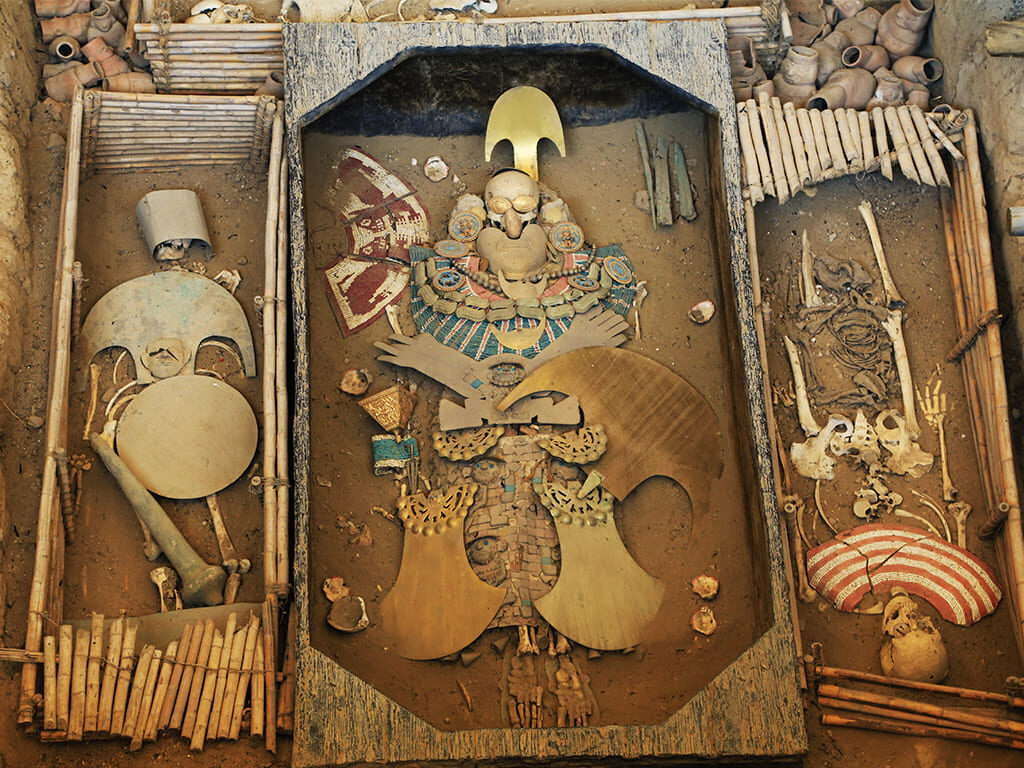 tumba del Señor de Sipán, Cusco, Perú