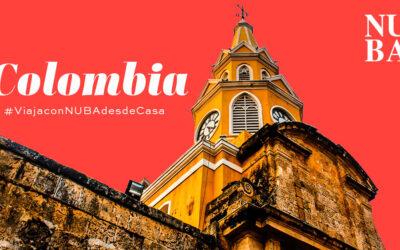 #VIAJACONNUBADESDECASA a Colombia