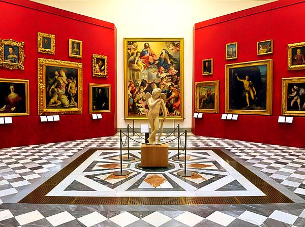 Viajar_a_Italia_desde_casa. Galería_Uffizi